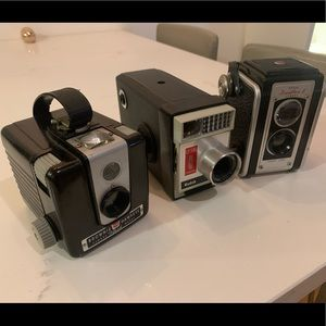 Kodak Vintage Cameras-bundle of 3